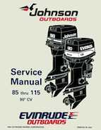 115HP 1995 J115MLEO Johnson outboard motor Service Manual