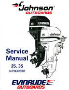 1995 Johnson/Evinrude Outboards 25, 35 3-Cylinder Service Manual