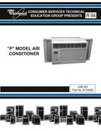Whirlpool P MODEL AIR CONDITIONER